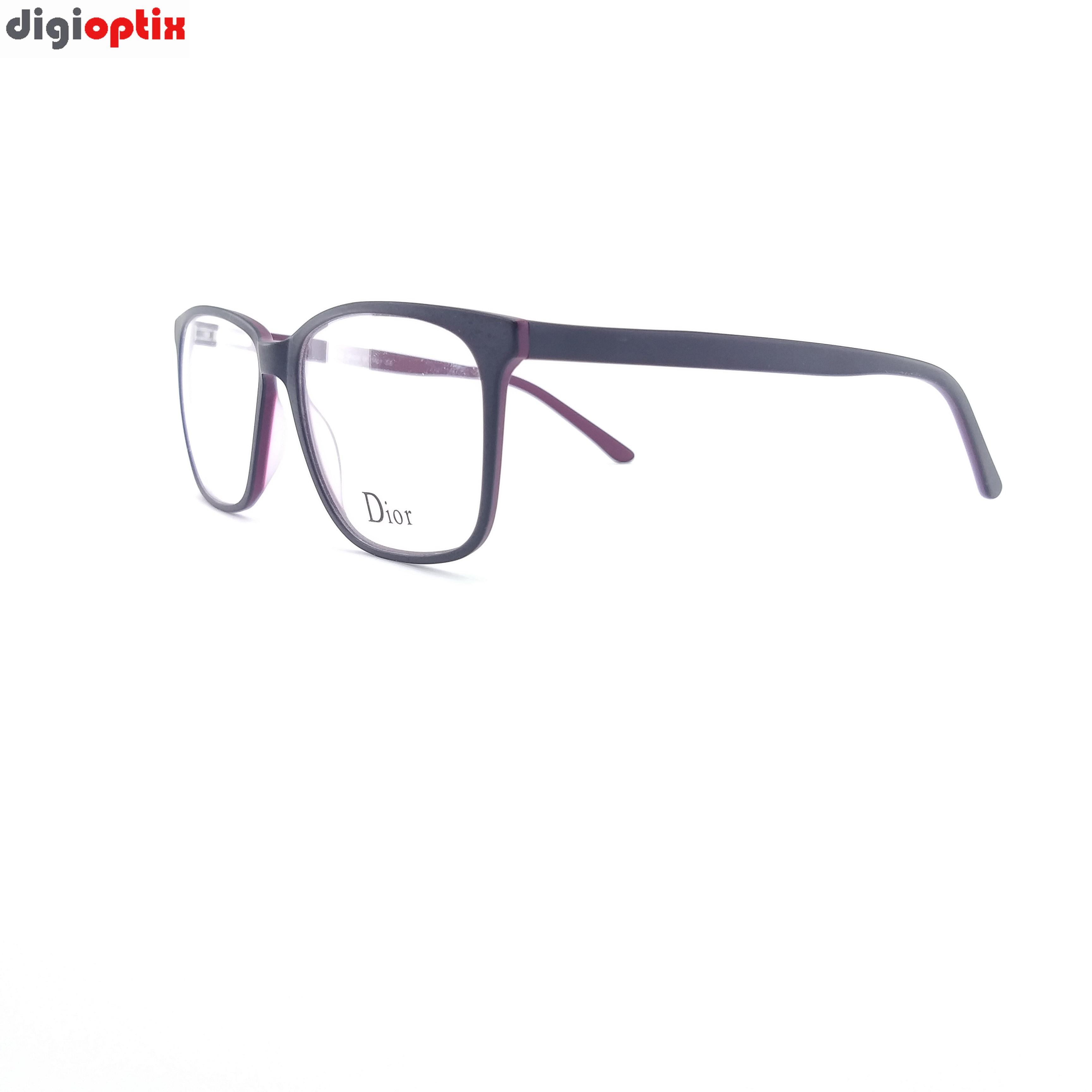 فریم عینک طبی کائوچویی مارک Dior رنگ بنفش مدل F1766