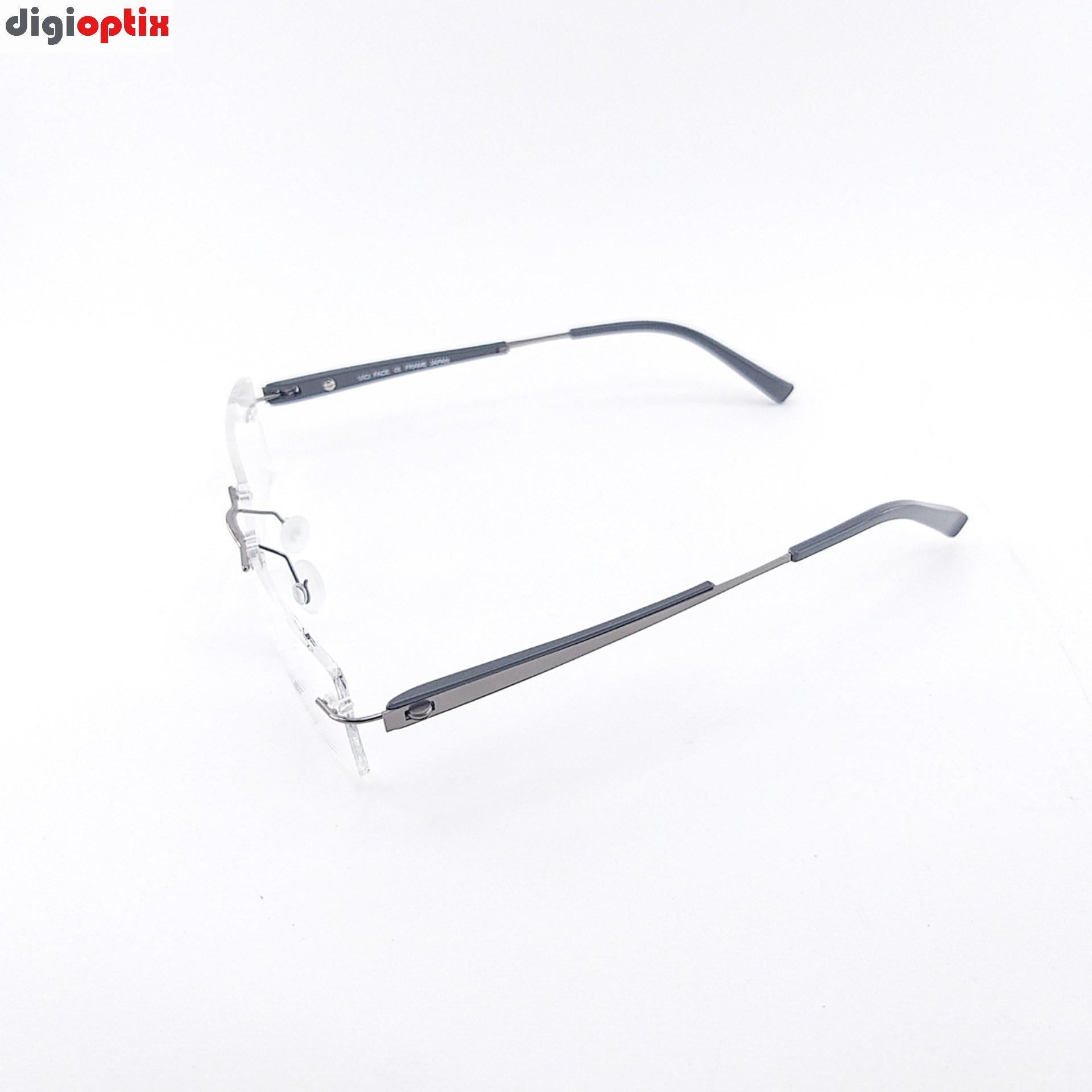 فریم عینک طبی ریم لس مارک Eyewear ژاپن مدل 6286.2