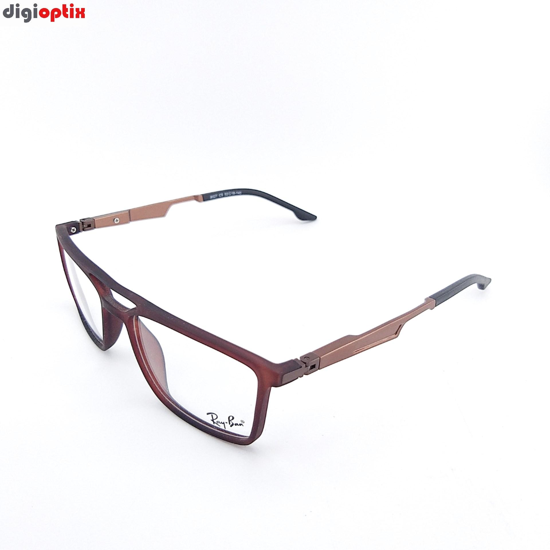 فریم عینک طبی طرح اسپورت ترکیبی مارک Ray-Ban مدل 8027