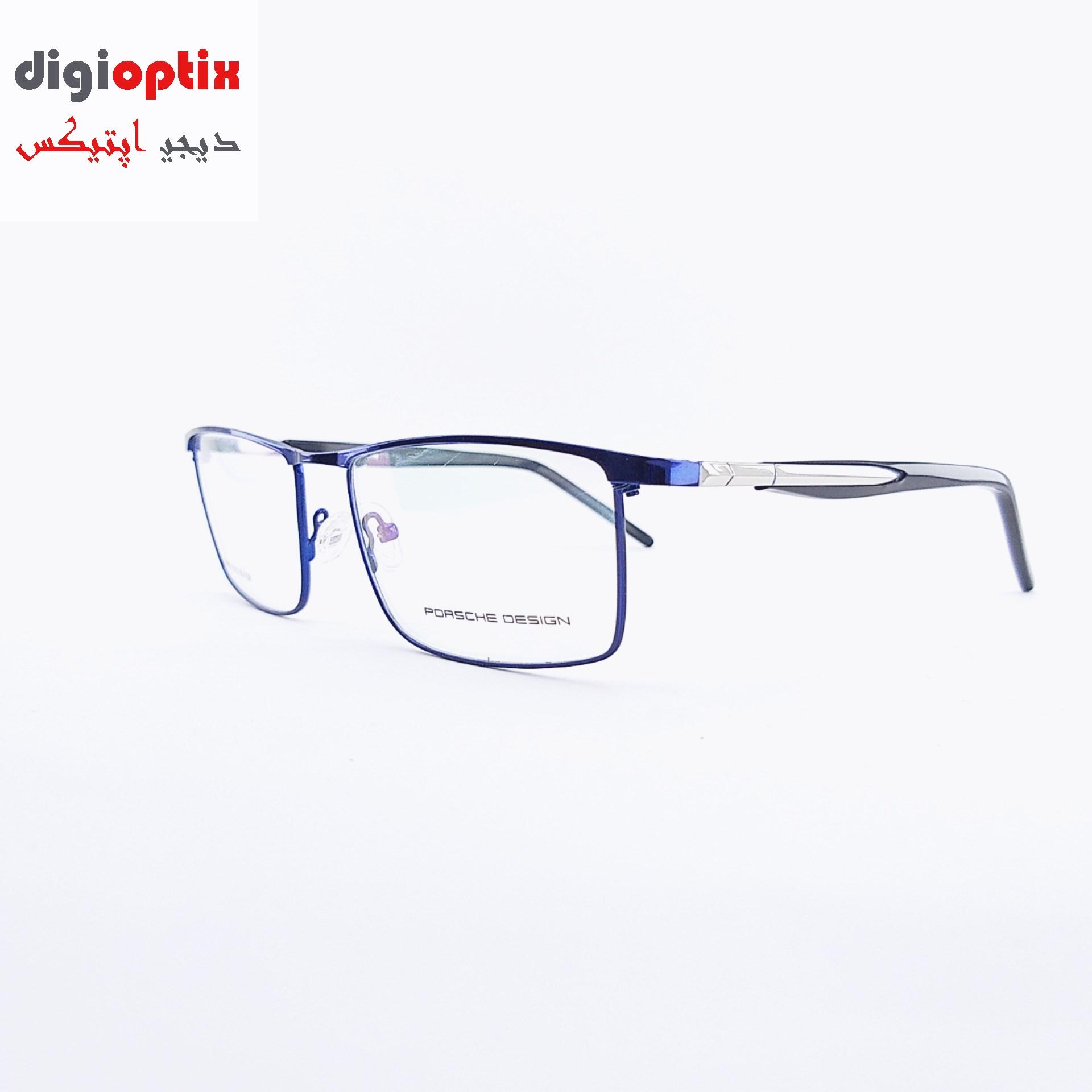 فریم عینک طبی مارک PORSCHE DESIGN رنگ بنفش مدل 8003