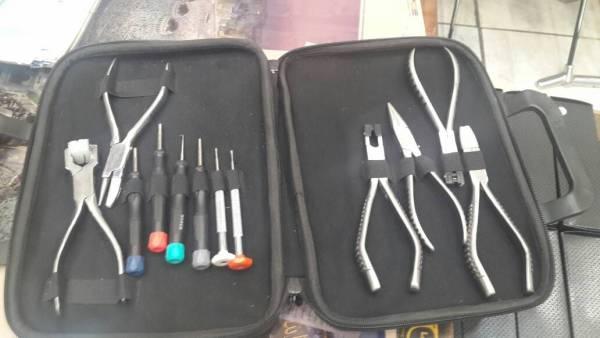پک ابزار کار عینک سازی